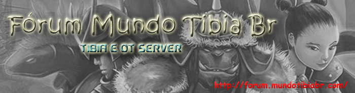 Tibia mc 10 | Tibia multiclient 10 | DOWNLOAD | BAIXAR LogoForumnovo